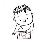 La grande histoire d'un petit trait (histoire interactive)