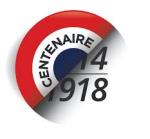 Centenaire de la guerre 11 novembre 1918-2018